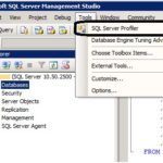 SQL Server Profiler (Express)