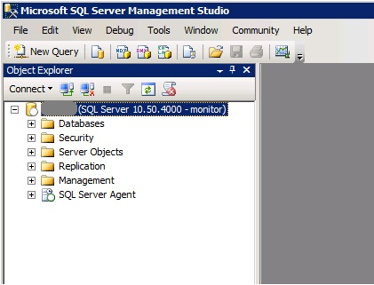 MS SQL Managment Studio - Object Explorer
