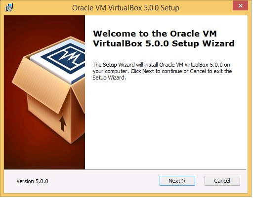 Oracle VM 5.0.0 Setup - start