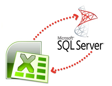 MS SQL Server - Import Data - logo