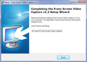 Freez sceen video - Setup_finish
