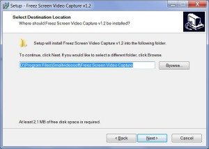 Freez sceen video - Setup_install folder