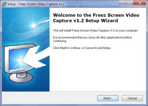 Freez sceen video - Setup_welcome