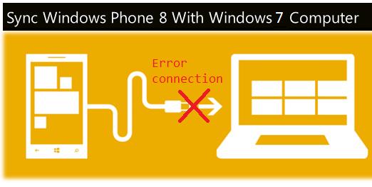 Windows phone 8 - error connection