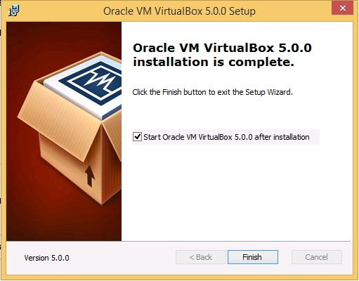 Oracle VM 5.0.0 Setup - finish