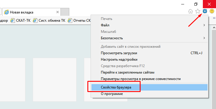 Internet Explorer - Параметры
