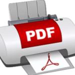 Как распечатать документ в файл (.pdf) в Windows