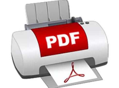 icon PDF printer